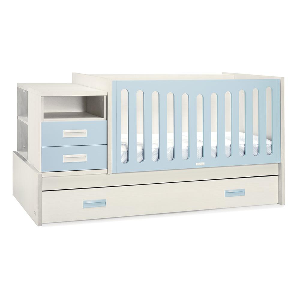 0006 Combi Deco [blanco Zen Azul Bebé]