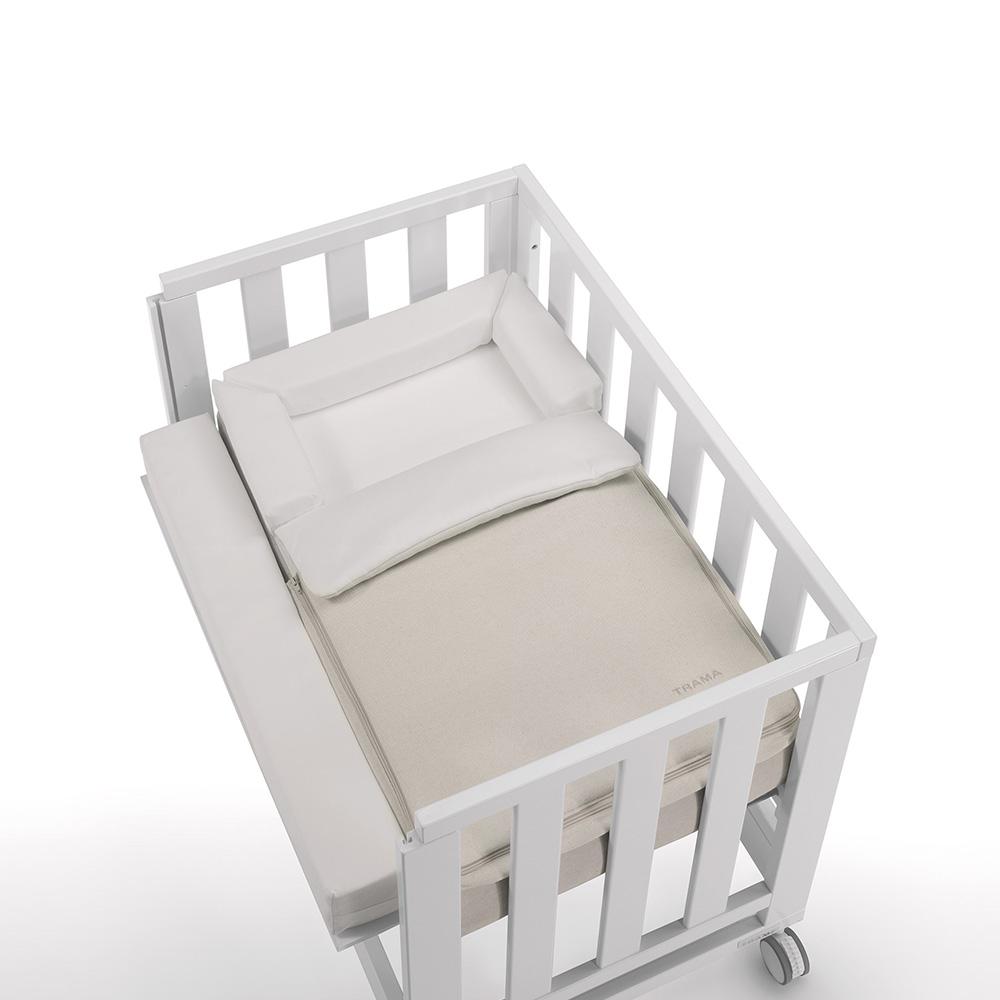 0029 Minicuna Colecho [blanco Mate] (textil)