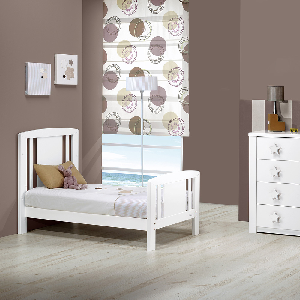 0067 Star [blanco Mate] (cama)