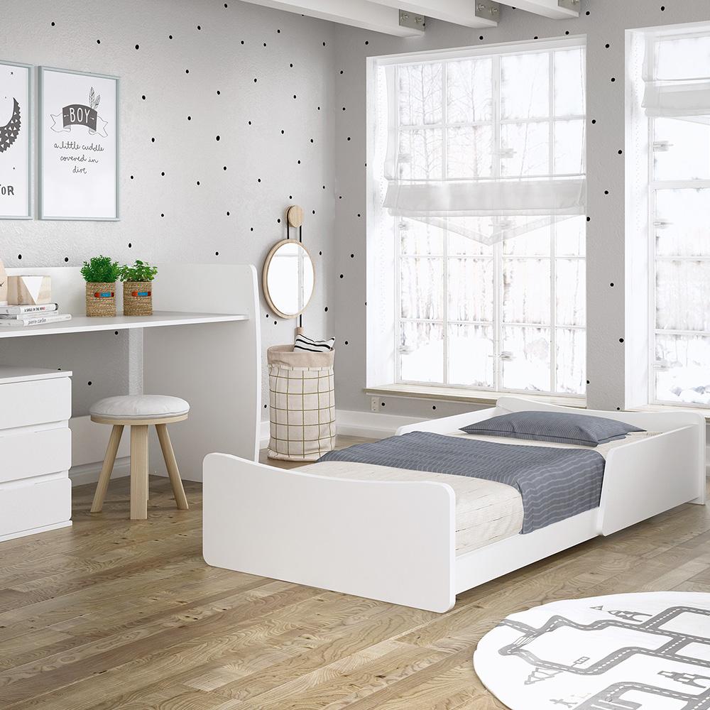 0073 Combi Nest [blanco Mate] (cama Montessori)
